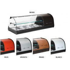 Display case refrigerated V24 double-decker