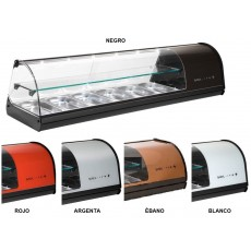 Display case refrigerated V26 double-decker