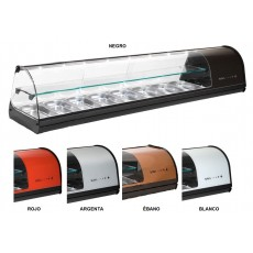Display case refrigerated V28 double-decker
