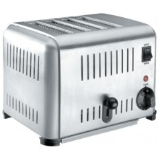 Toaster Buffet stainless steel 4 slots