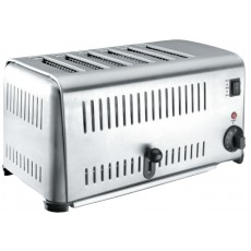 Toaster Buffet stainless steel 6 slots