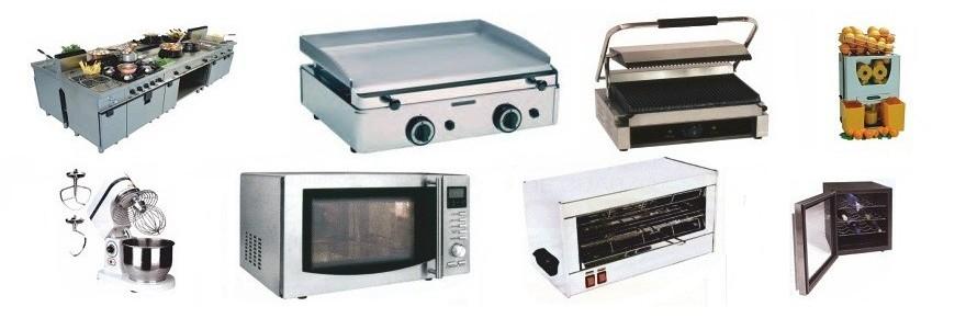 Peque a maquinaria y electrodomesticos for Menaje industrial