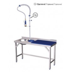 Preparation and washing table