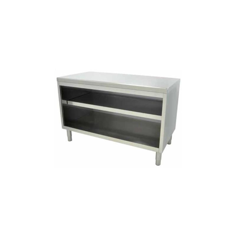 Mueble mesa central 100 x 70 x 85 cm sin puertas for Mueble 70 x 40