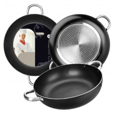Frying pan with handles deep 40cm.