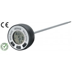 Thermometer with alarm