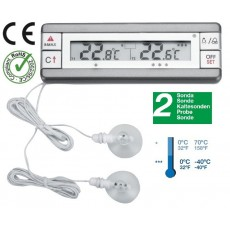 Thermometer with alarm fridge freezer