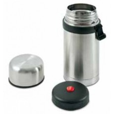 Solid stainless steel thermos 1 liter