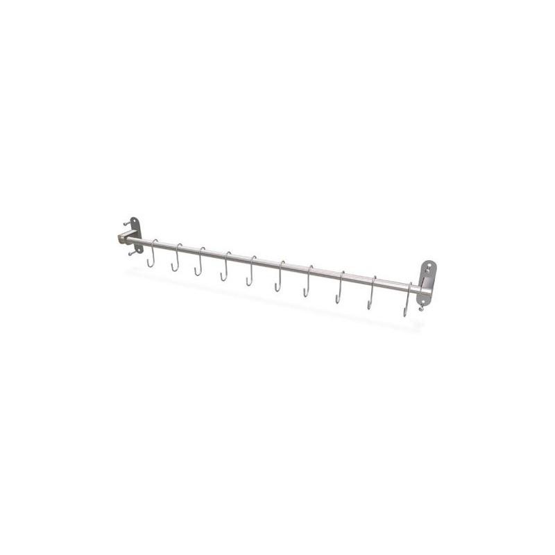 Colgador para utensilios de cocina 75 cm for Barra utensilios cocina