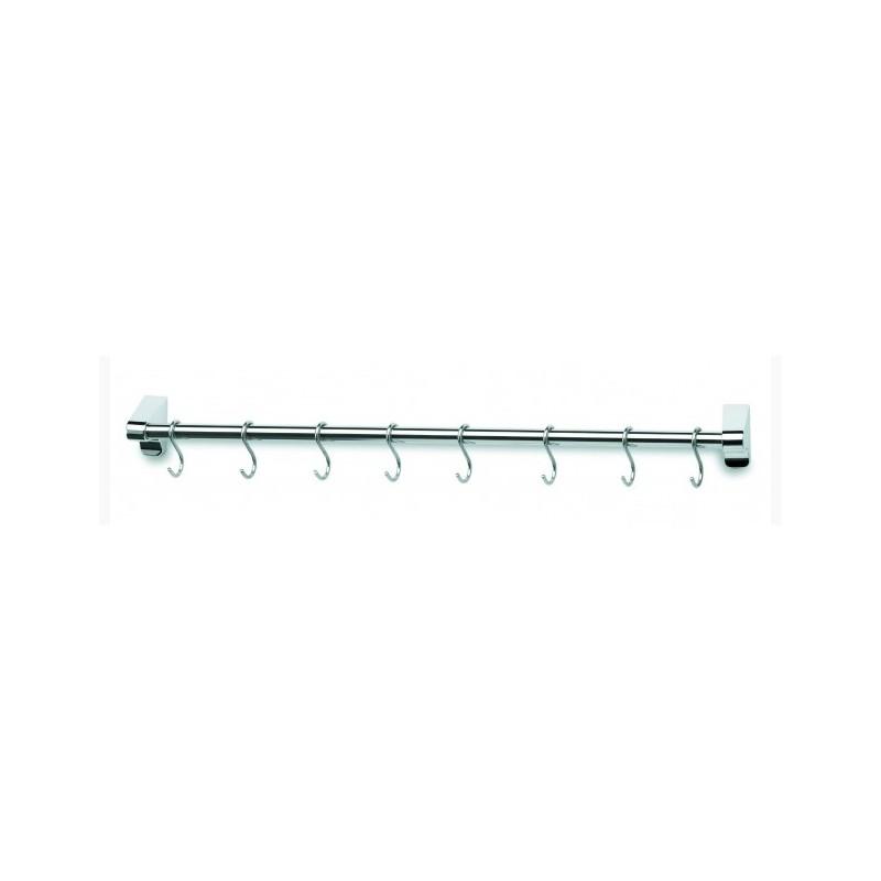 Colgador para utensilios de cocina 60 cm for Barra utensilios cocina