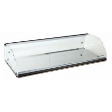 Neutral display case E6 One Floor 119 x 38 x 17 cm