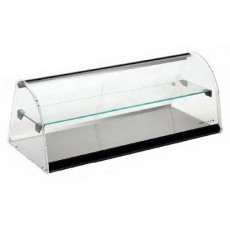 Neutral display case E24L Two Floors LEDS 84 x 38 x 35,5 cm