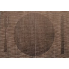 Brown Single tablecloth 45 x 30 cm