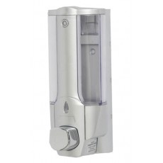 0.4 litre grey ABS soap dispenser