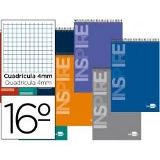Grid spiral Notepad Pocket 16 th 10 units