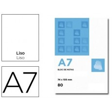 Bloc Notes smooth perforated A7 10 units