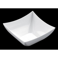 Bowl square PS 7 cl white 25 units