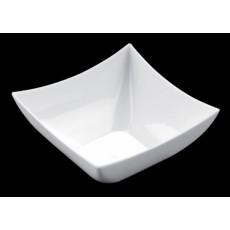 Bowl square PS 7 cl white 25 units