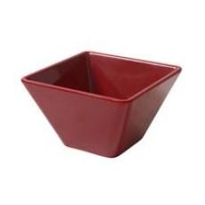 Bowl Ming 10 x 10 x 6 cm Red
