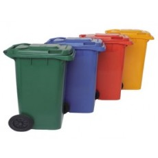 240 L dumpster