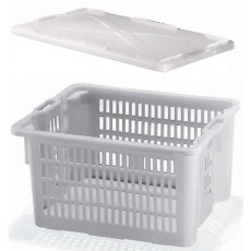 Tray rack with cover 50 L