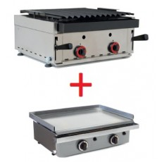Barbecue 600 x 600 mm. + Iron Gift 610 x 457 mm.