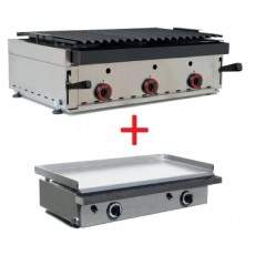 Barbecue 900 x 600 mm. + Iron Gift 810 x 457 mm.