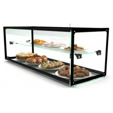 Double Neutral Exhibitor Display Case