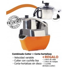 Cutter and vegetable cutter