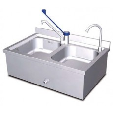 Set sink and wall sink