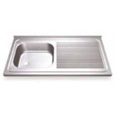 Sink to enchase sinus stainless steel.