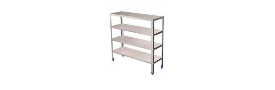 Steel shelves 4 shelves