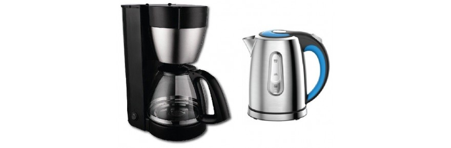 Coffee makers and Kettles